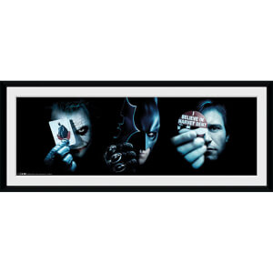 Batman: The Dark Knight Trio - 30 x 12 Inches Framed Photograph
