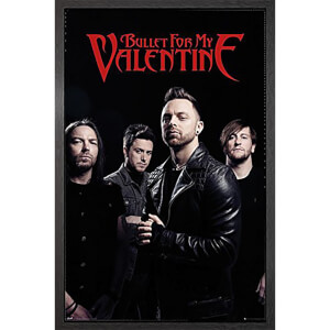 Bullet for my Valentine Band - 61 x 91.5cm Framed Maxi Poster