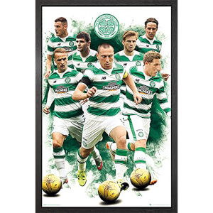Celtic Players 15/16 - 61 x 91.5cm Framed Maxi Poster
