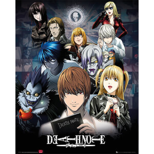 Death Note Collage - 40 x 50cm Mini Poster