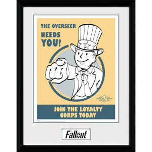 Fallout Needs You - 16 x 12 Inches Framed Photograph