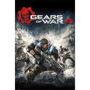 Gears of War 4 Game Cover - 61 x 91.5cm Maxi Poster