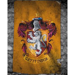 Harry Potter Gryffindor Flag - 40 x 50cm Mini Poster