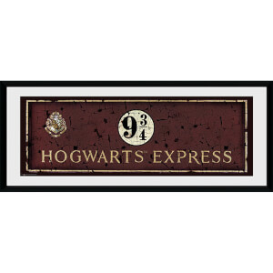 Harry Potter Hogwarts Express - 30 x 12 Inches Framed Photograph