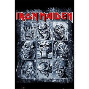 Iron Maiden Eddies - 61 x 91.5cm Maxi Poster