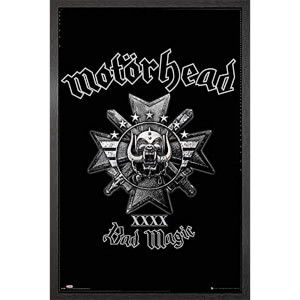Motorhead Bad Magic - 61 x 91.5cm Framed Maxi Poster