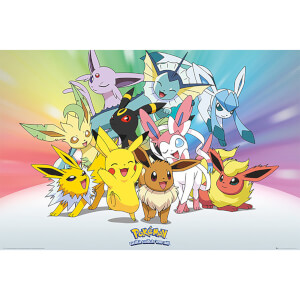 Pokémon Eve - 61 x 91.5cm Maxi Poster