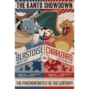 Pokémon Red V Blue - 61 x 91.5cm Maxi Poster