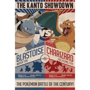 Pokémon Red V Blue - 61 x 91.5cm Maxi Poster