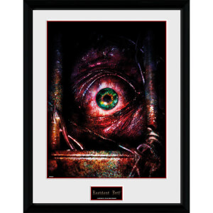 Resident Evil Eye - 16 x 12 Inches Framed Photograph