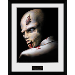 Resident Evil Zombie - 16 x 12 Inches Framed Photograph