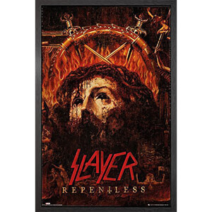 Slayer Repentless - 61 x 91.5cm Framed Maxi Poster