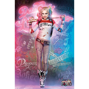 Suicide Squad Harley Quinn Stand - 61 x 91.5cm Maxi Poster