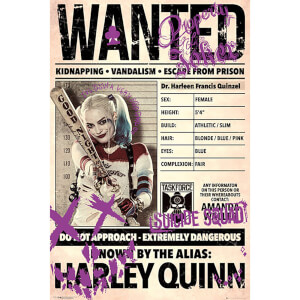 Suicide Squad Harley Wanted - 61 x 91.5cm Maxi Poster