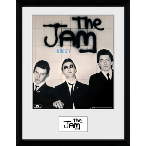 The Jam in the City - 16 x 12 Inches Framed Photograph