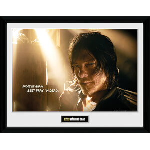 The Walking Dead Daryl Light - 16 x 12 Inches Framed Photograph