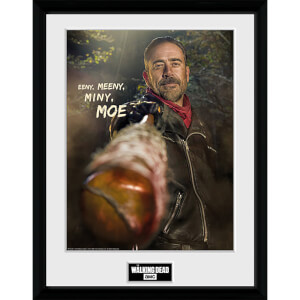 The Walking Dead Negan - 16 x 12 Inches Framed Photograph