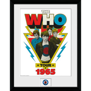 The Who Blots - 16 x 12 Inches Framed Photograph