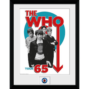 The Who Tour 65 - 16 x 12 Inches Framed Photograph