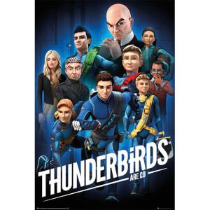Thunderbirds Are Go Collage 1 - 61 x 91.5cm Maxi Poster