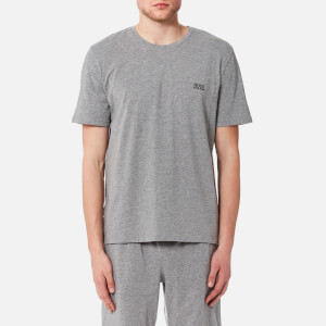 BOSS Hugo Boss Men's Small Logo Crew Neck T-Shirt - Grey