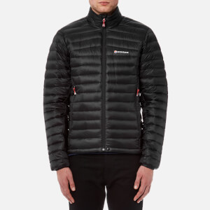 Montane Men's Featherlite Down Micro Jacket - Black/Flag Red