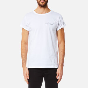 Maison Labiche Men's Rock 'n' Roll Crew Neck T-Shirt - Blanc