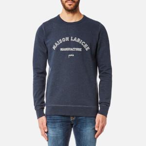 Maison Labiche Men's Manufacture Sweatshirt - Bleu Nuit Chine