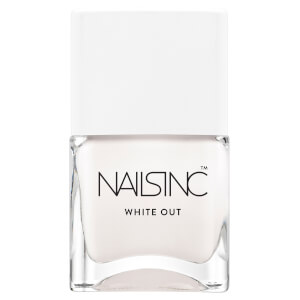 nails inc. Bright Ambition Whiteout Nail Polish 14ml