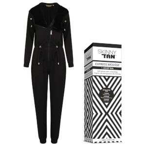 Bronzie Jumpsuit & SKINNY TAN Express Mousse Bundle (Worth £77.98)
