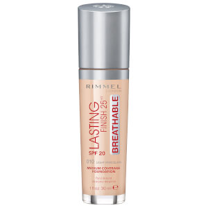Base Lasting Finish Breathable da Rimmel 30 ml (Vários tons)