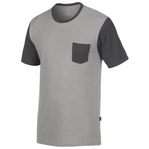 Oakley Men's 50/50 Solid Pocket T-Shirt - Grey
