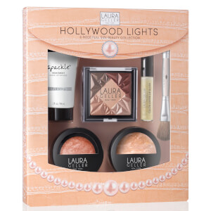 Laura Geller Hollywood Lights 6 Piece Beauty Collection - Medium (Worth £91)