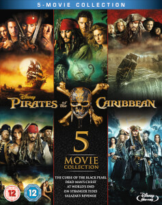 Pirates of the Caribbean: 1-5 Boxset