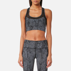 Varley Women's Bandini Crop Top - Dark Moon Snake