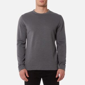 MUSTO Men's Finder Merino Crew Sweatshirt - Charcoal