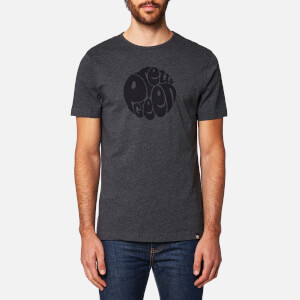 Pretty Green Men's Gillespie Logo T-Shirt - Dark Grey Marl