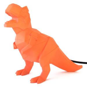 Lampe Dinosaure Origami - Orange