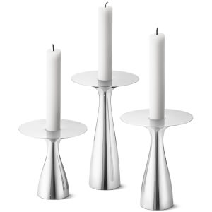 Georg Jensen Alfredo Candleholder - Set of 3