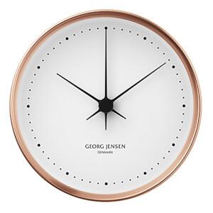 Georg Jensen Henning Koppel Clock - Copper & White - 22cm