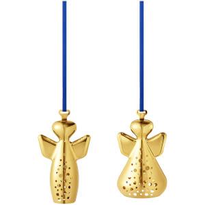 Georg Jensen 2017 Christmas Ornament - MICHAEL & RAPHAEL - Gold