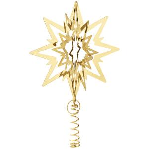 Georg Jensen Christmas Tree Star - Medium - Gold