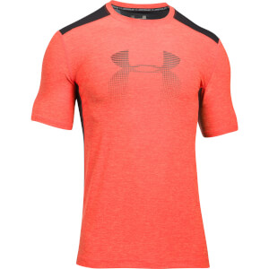 Under Armour Men's Raid Graphic T-Shirt - Black/Orange