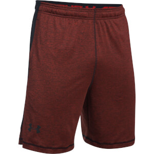 Under Armour Men's Raid Printed 8 Inch Shorts - Red