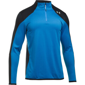 Under Armour Men's Reactor 1/4 Zip Fleece - Blue/Grey
