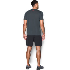 Under Armour Men's Threadborne Fitted T-Shirt - Dark Grey