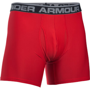 Under Armour Men's Original Series 6 Inch Boxerjock - Red