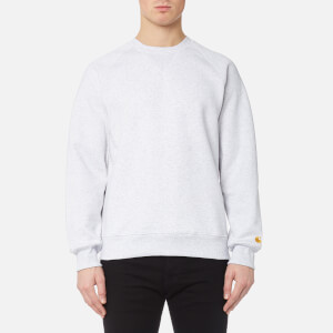 Carhartt Men's Chase Sweatshirt - Ash Heather/Gold