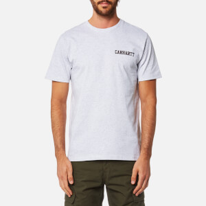 Carhartt Men's College Script T-Shirt - Ash Heather