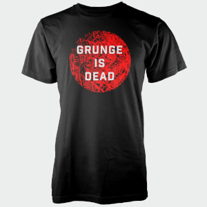 T-Shirt Homme Grunge Is Dead - Noir